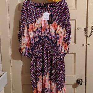 Size 28 Anna Scholz for Simply Be Patterned Dress